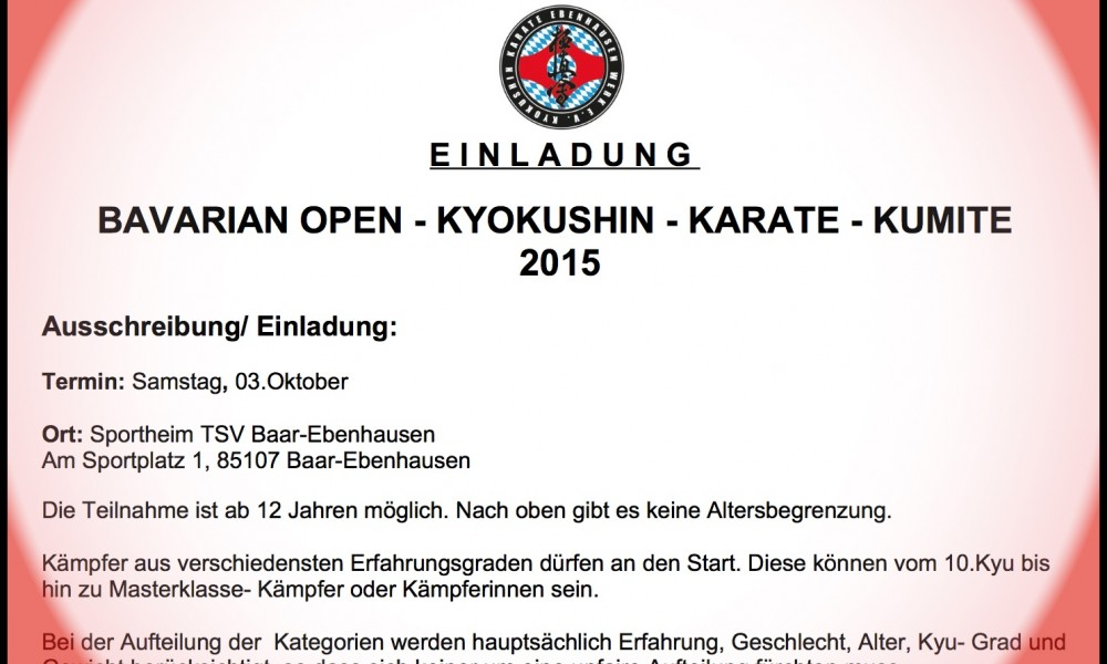 Bavarian Open 2015