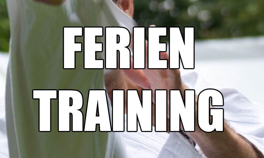 Trainingszeiten Sommerferien 2018