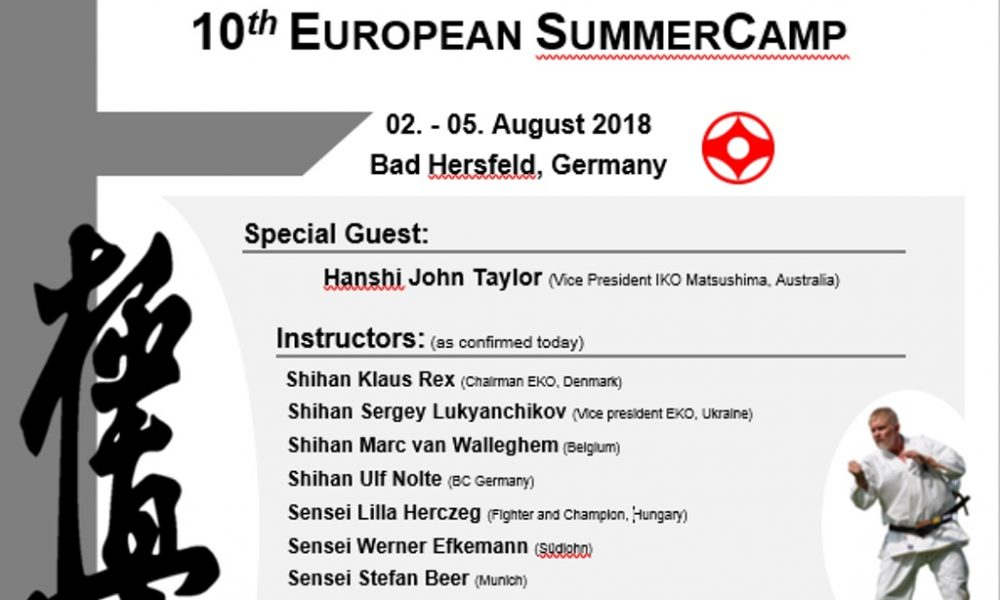 Ankündigung Sommerlager 2018