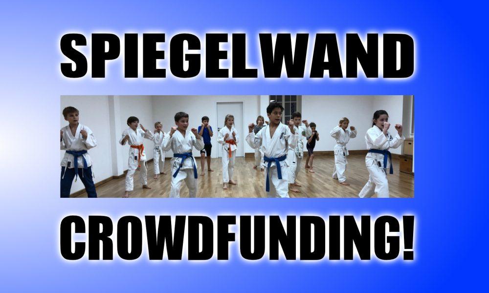 Crowdfunding für neue Spiegelwand